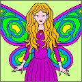 Coloring Book: Fairies